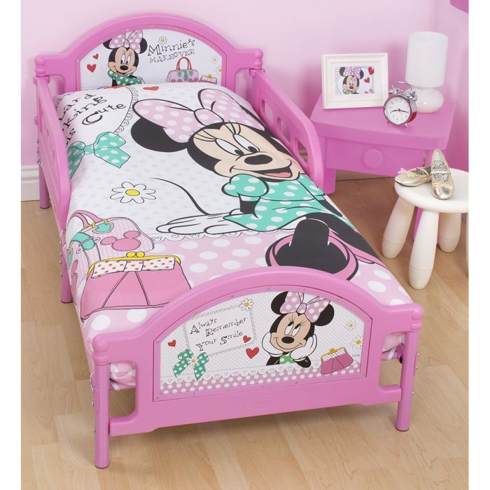 lit junior minnie visuel 3. Black Bedroom Furniture Sets. Home Design Ideas