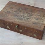 boite a bijoux ancienne en bois