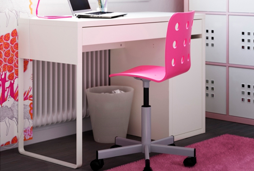 bureau pour fille ikea visuel 1. Black Bedroom Furniture Sets. Home Design Ideas
