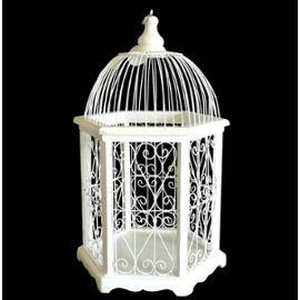 Cage oiseaux deco bois visuel 8 for Deco cage a oiseaux