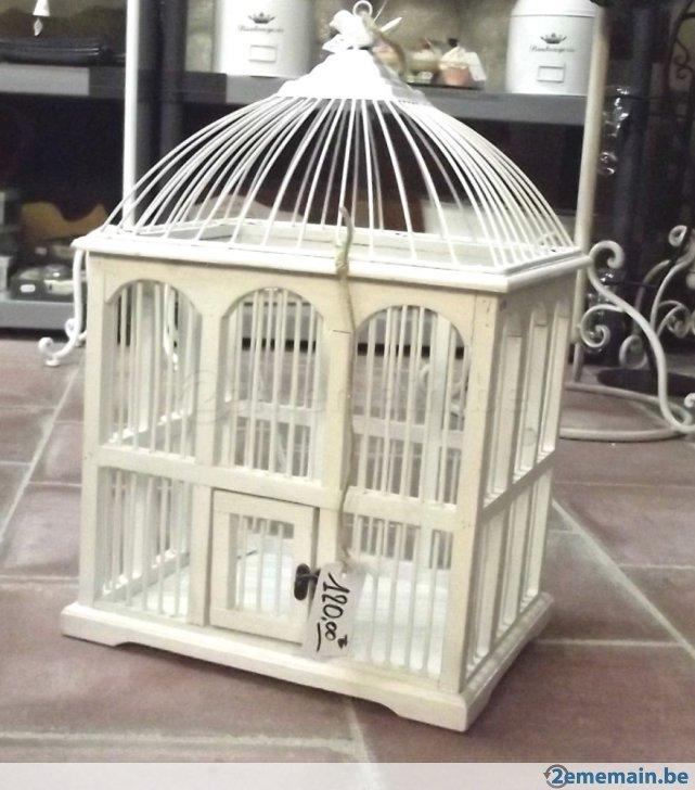 Cage Oiseaux Deco Bois