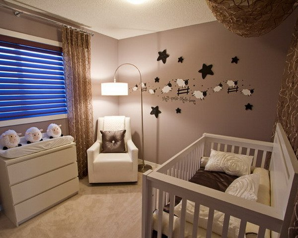 chambre bebe decoration murale visuel 8. Black Bedroom Furniture Sets. Home Design Ideas