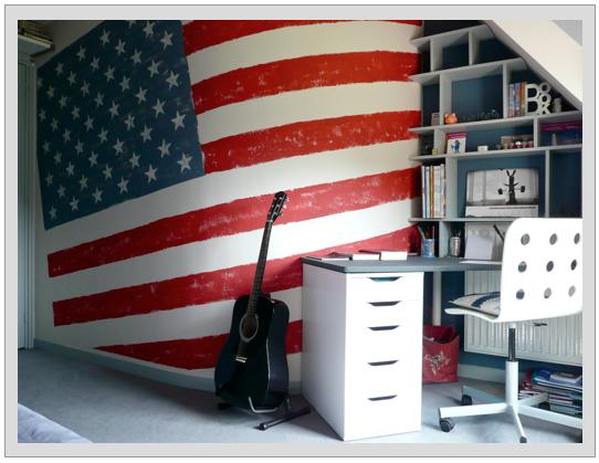 deco americaine voyage sponsoris - Decoration Chambre Ado Style Americain