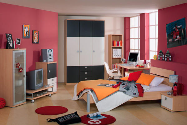 chambre decoration adolescent visuel 7. Black Bedroom Furniture Sets. Home Design Ideas