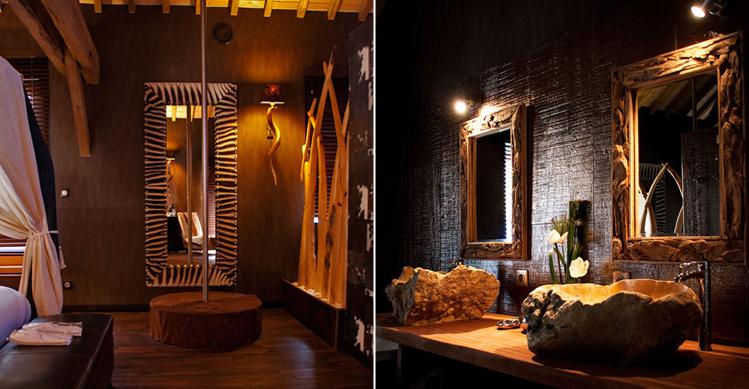 chambre decoration africaine - visuel #6