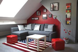 chambre decoration usa , visuel 7
