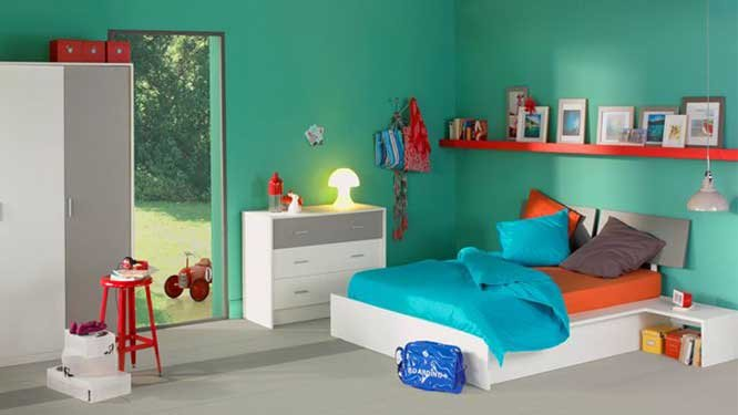 Beautiful Chambre Turquoise Et Orange Ideas - lalawgroup.us ...