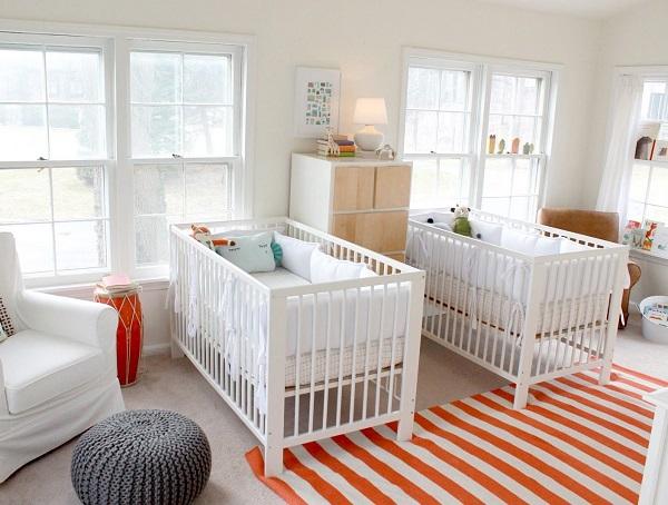 deco chambre bebe jumeaux - visuel #2