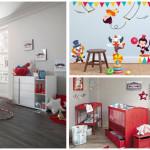 deco chambre bebe theme cirque. Black Bedroom Furniture Sets. Home Design Ideas