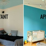 Deco chambre fille avant apres for Decoration chambre kimmidoll