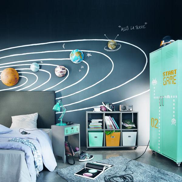 Deco chambre garcon theme espace visuel 4 - Thema chambre garcon ...