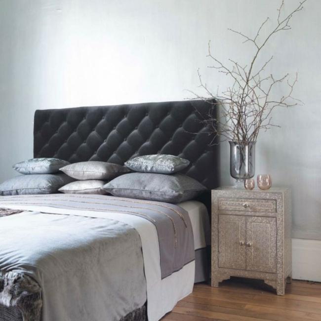 deco chambre gris et beige - visuel #1