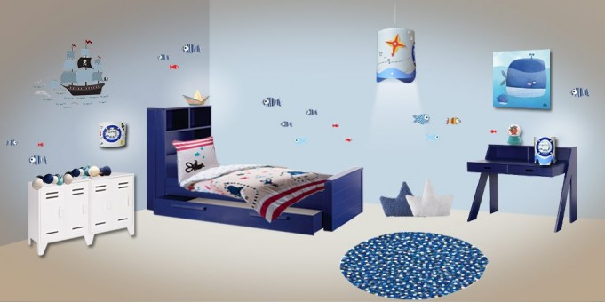 Deco chambre junior for Decoration chambre junior garcon