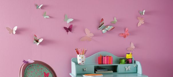 D coration chambre fille papillon - Decoration chambre fille papillon ...