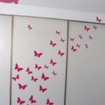 deco chambre papillon