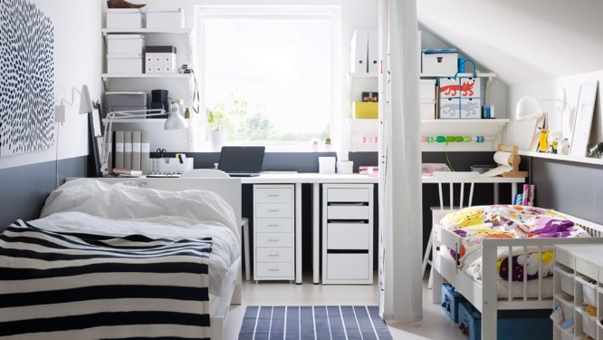 deco chambre parent avec bebe visuel 3. Black Bedroom Furniture Sets. Home Design Ideas