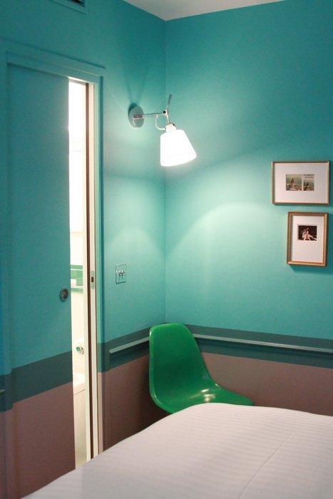 Chambre Vert Et Gris : Deco chambre vert et gris visuel