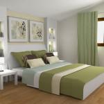 Deco chambre vert et gris - Chambre vert gris ...