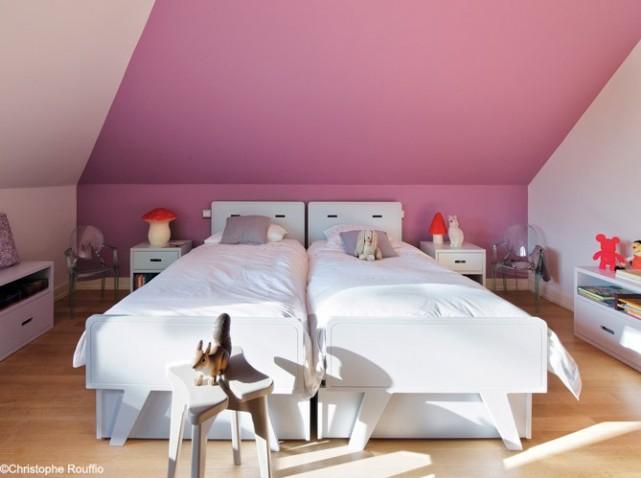 deco chambre vieux rose - visuel #3