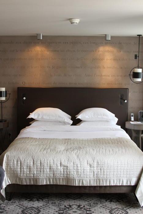 Deco tete de lit chambre for Deco chambre lit noir