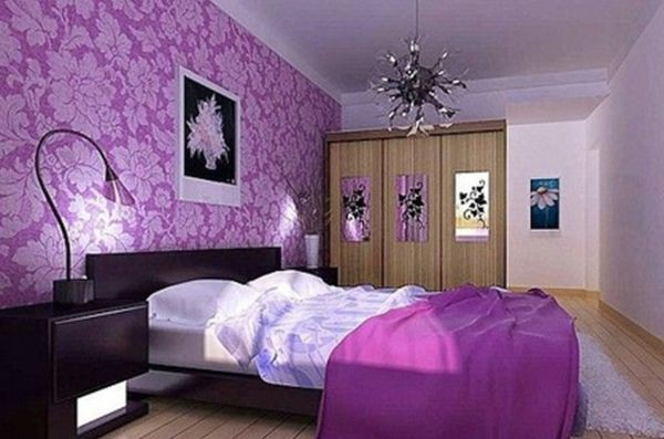 decoration chambre a coucher mauve visuel 7. Black Bedroom Furniture Sets. Home Design Ideas