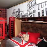 decoration chambre ado style british