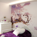 decoration chambre bebe fee clochette