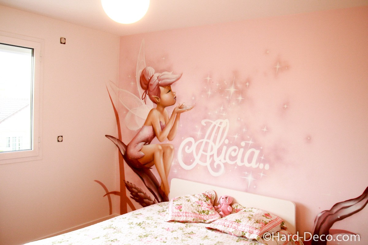 Decoration Chambre Fille Fee : Decoration chambre bebe fee clochette