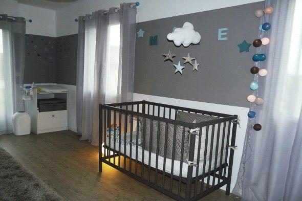 decoration chambre bebe fille etoile. Black Bedroom Furniture Sets. Home Design Ideas