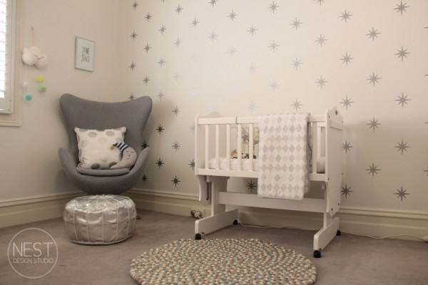 Deco simple chambre bebe for Decoration chambre bebe
