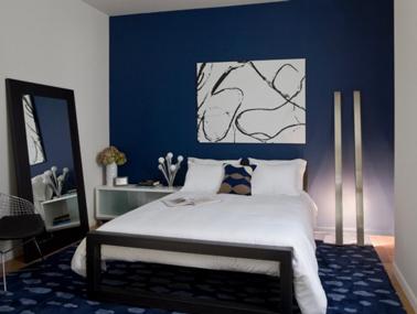 Decoration chambre bleue visuel 3 - Chambre adulte bleue ...