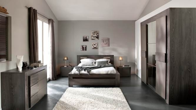 decoration chambre de couple visuel 7. Black Bedroom Furniture Sets. Home Design Ideas