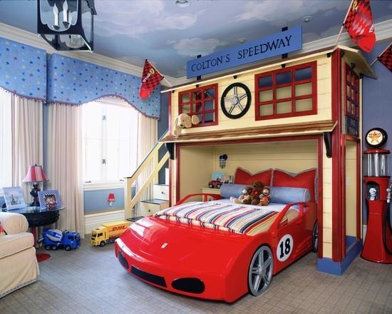 decoration chambre garcon theme cars - visuel #6