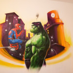 decoration chambre hulk