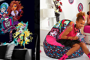 decoration chambre monster high