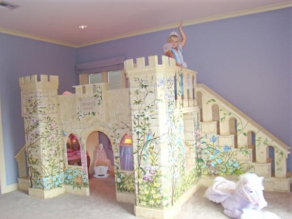 decoration chambre petite fille princesse - visuel #7