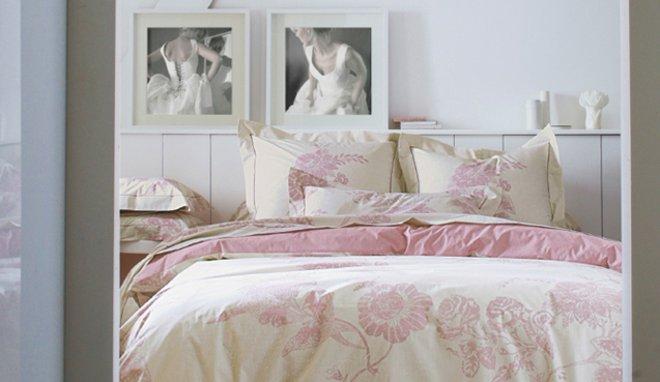 decoration chambre rose et blanc - visuel #5