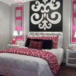 decoration chambre rose et blanc