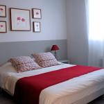 decoration chambre rouge