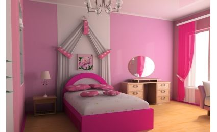 decoration de chambre d une fille. Black Bedroom Furniture Sets. Home Design Ideas