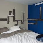 decoration de chambre en peinture