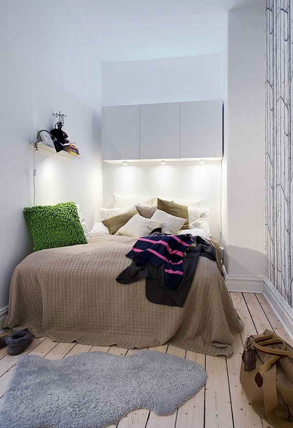 Decoration des petites chambres visuel 6 for Deco petite chambre adulte