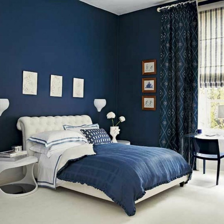 decoration interieur chambre adulte peinture visuel 3. Black Bedroom Furniture Sets. Home Design Ideas