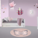 decoration papillon pour chambre de bebe