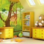 decoration theme jungle chambre bebe. Black Bedroom Furniture Sets. Home Design Ideas