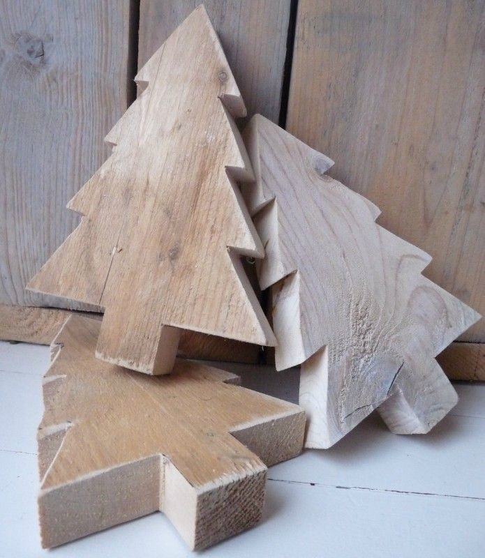 fabriquer deco de noel en bois - visuel #4