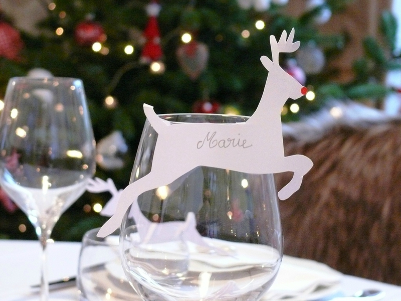 Fabriquer sa deco table noel - Decoration noel a faire ...