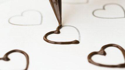 faire decoration en chocolat