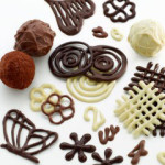 faire decoration en chocolat