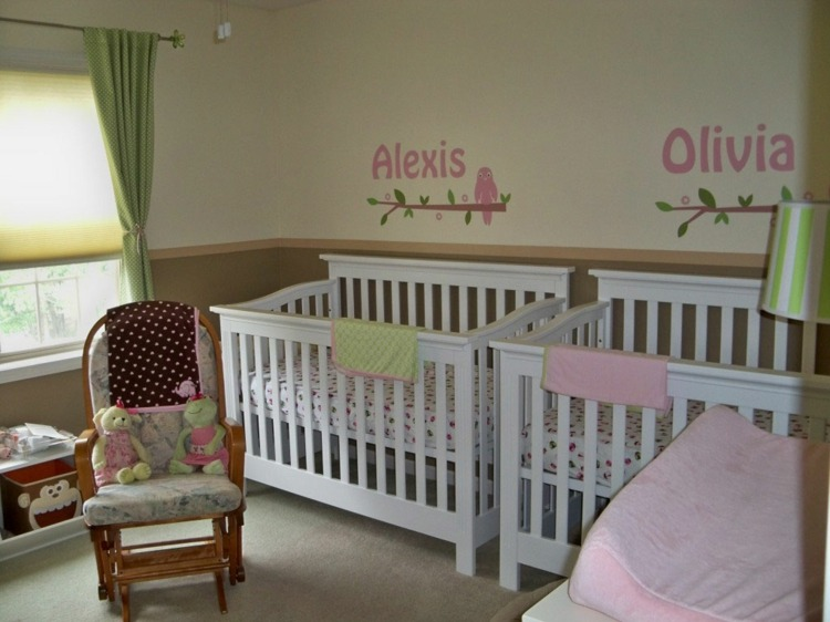 Beautiful Idee Chambre Bebe Fille Gallery - Design Trends 2017 ...
